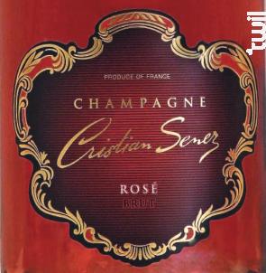 Rosé de saignée - Champagne Cristian Senez - Non millésimé - Effervescent