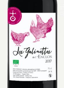 Les Galinettes - Domaine Enclos de la Croix - 2017 - Rouge