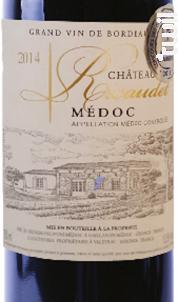 Château Ricaudet - Vignerons d'Uni-Médoc - 2014 - Rouge