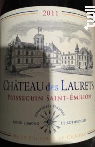 Château des Laurets - Château des Laurets - 2011 - Rouge