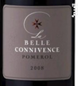 LA BELLE CONNIVENCE - Maison Malet Roquefort - 2011 - Rouge