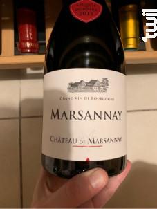 Marsannay - Château de Marsannay - 2017 - Rouge