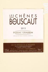 Les chênes de Bouscaut Blanc - Château Bouscaut - 2013 - Blanc
