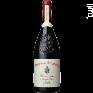 Chateau De Beaucastel - Hommage À Jacques Perrin - Famille Perrin - 2018 - Rouge