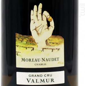 Chablis Grand Cru  Valmur Moreau Naudet - Domaine Moreau-Naudet - 2017 - Blanc