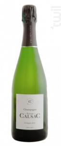 L'échappée Belle - Extra Brut - Champagne Etienne Calsac - Non millésimé - Effervescent