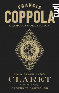 Diamond collection - Claret Cabernet Sauvignon - FRANCIS FORD COPPOLA WINERY - 2016 - Rouge