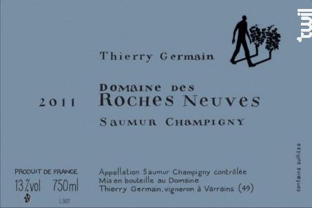 Domaine des roches neuves - THIERRY GERMAIN - DOMAINE DES ROCHES NEUVES - 2016 - Rouge