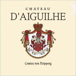 Château d'Aiguilhe - Vignobles Comtes Von Neipperg - 2014 - Rouge