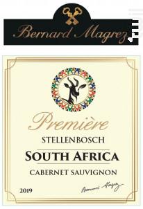 Première Stellenbosch South Africa - Bernard Magrez - 2019 - Rouge