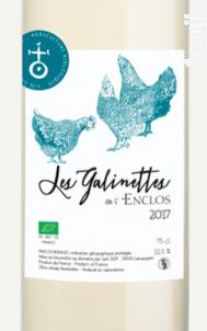 Les Galinettes - Domaine Enclos de la Croix - 2018 - Blanc