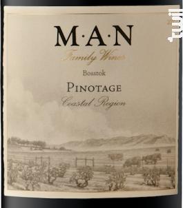 Bosstok - Pinotage - MAN FAMILY WINES - 2016 - Rouge