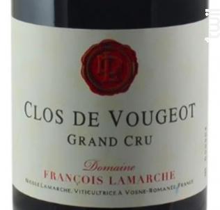 CLOS DE VOUGEOT - Domaine François Lamarche - 2014 - Rouge