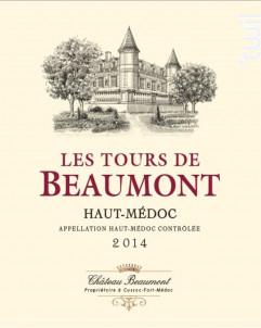 Tours de Beaumont - Château Beaumont - 2015 - Rouge