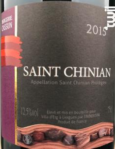 Saint Chinian - Bergerie Cassun - 2013 - Rouge