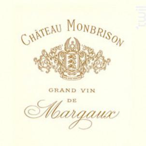 Château Monbrison - Château Monbrison - 2007 - Rouge