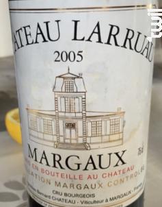 Château Larruau - Château Larruau - 2005 - Rouge