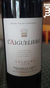 Velours - Domaine l'Aiguelière - 2017 - Rouge