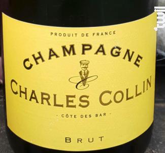Brut - Champagne Charles Collin - Non millésimé - Effervescent
