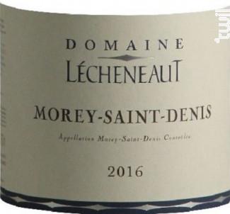 MOREY SAINT DENIS - Domaine Lecheneaut Philippe et Vincent - 2016 - Rouge