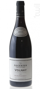 Volnay - Jean Luc et Paul Aegerter - 2013 - Rouge