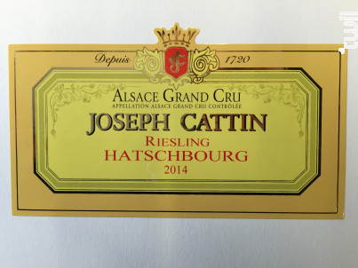 Riesling - Maison Joseph Cattin - 2017 - Blanc