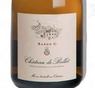 Baron G. - Chateau de Bellet - 2015 - Blanc