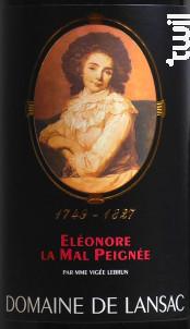 Eléonore La Mal Peignée - Domaine de Lansac - 2013 - Rouge