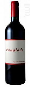 Langlade - Edgard Dufes Successeur, Langlade - 2016 - Blanc