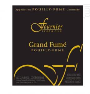 Pouilly Fumé Grande Cuvée - FOURNIER Père & Fils - 2015 - Blanc