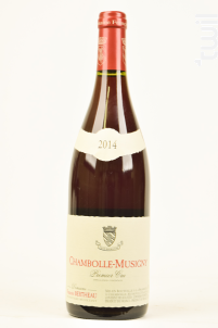 CHAMBOLLE MUSIGNY 1er cru - BERTHEAU Francois - 2013 - Rouge
