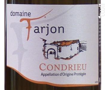 Condrieu - Domaine Farjon - 2016 - Blanc