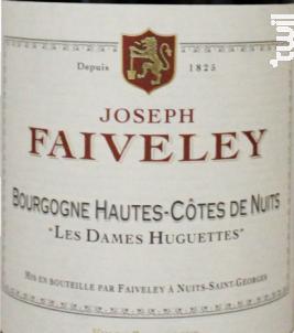 Les Dames Huguettes - Domaine Faiveley - 2017 - Rouge