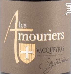 Signature - Domaine des Amouriers - 2016 - Rouge