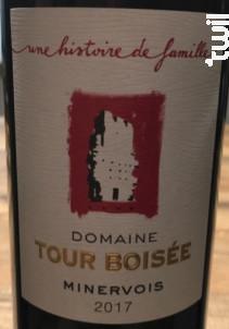 Une Histoire De Famille - Domaine Tour Boisée - 2018 - Rouge