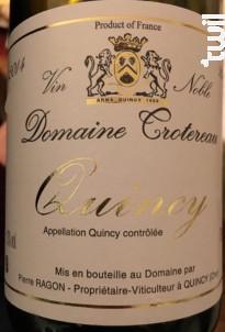 Quincy - Domaine Trotereau - 1987 - Blanc