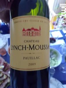 Château Lynch-Moussas - Château Lynch-Moussas - 2000 - Rouge