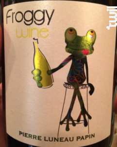 Froggy Wine - Domaine Pierre Luneau Papin - 2013 - Blanc