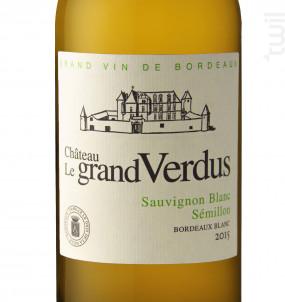 Château le Grand Verdus - Château le Grand Verdus - 2018 - Blanc