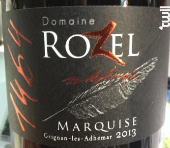 Marquise - Domaine Rozel - 2016 - Rouge