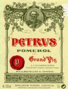 Pétrus - Pétrus - 2016 - Rouge