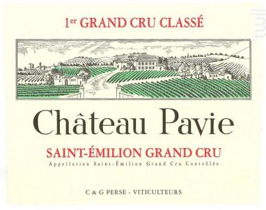 Château Pavie - Château Pavie - 2012 - Rouge