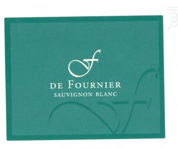 Sauvignon F de Fournier - FOURNIER Père & Fils - 2016 - Blanc