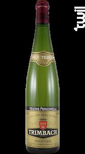 Pinot Gris «Réserve Personnelle» - Trimbach - 2016 - Blanc