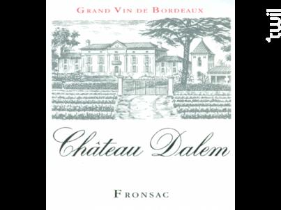 Château Dalem - Château Dalem - 2014 - Rouge