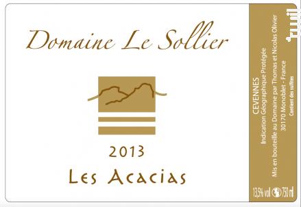 Les Acacias - Domaine Le Sollier - 2018 - Blanc