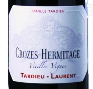 Crozes-Hermitage Vieilles Vignes - Maison Tardieu Laurent - 2014 - Rouge