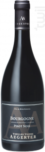 Bourgone Pinot noir - Jean Luc et Paul Aegerter - 2015 - Rouge