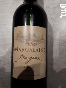 Clos Margalaine - Domaine Porcheron - 2015 - Rouge