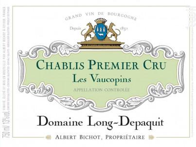 Chablis Premier Cru Les Vaucopins - Domaine Long-Depaquit - Domaines Albert Bichot - 2018 - Blanc